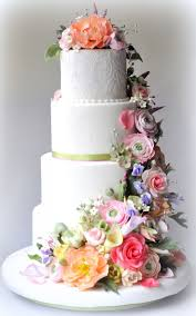794 best floral cakes images on pinterest biscuits cake designs