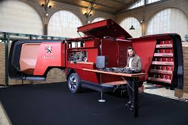 leasing peugeot france peugeot food truck burger vans reimagined by the french who else