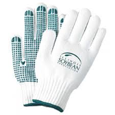 custom work gloves with logo promotional gloves