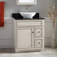 white bathroom vanity with vessel sink best bathroom decoration