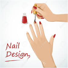 nail clipart woman hand pencil and in color nail clipart woman hand