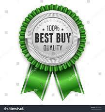 buy ribbon silver best buy rosette green ribbon stock vector 385110352
