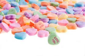 sweetheart candy sweetheart candy stock photo image of food junk 22174718