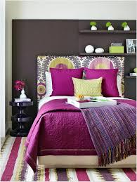 interior design of bedroom in purple colour home decor page shew