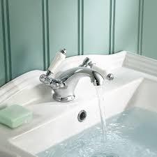 ibathuk traditional chrome basin mixer tap monobloc bathroom