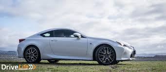 lexus sports car review 2016 lexus rc200t f sport u2013 car review u2013 the comfy way to look
