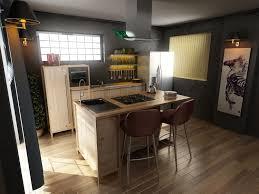 Kitchen Design Free Modern Kitchen Design 3d Design Cgtrader