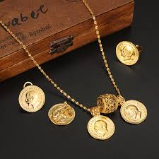 coin jewelry necklace images 24k gold coin jewelry sets ethiopian coin set necklace twin jpg