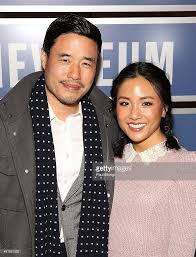 randall park actors randall park and constance wu attends the fresh off the boat picture id461921532
