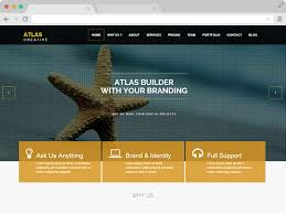 bootstrap themes free parallax atlas parallax html5 business free responsive bootstrap template