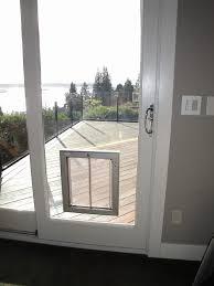 Exterior Pet Door 96 Inches Pet Ready Exterior Doors How To Put A Door In Glass