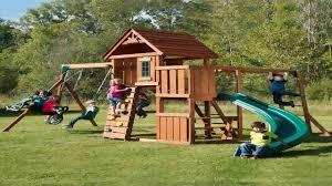 swing n slide cedar brook play set youtube