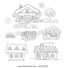 simple house drawing stock images royalty free images u0026 vectors