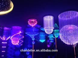 fiber optic waterfall light fiber optic outdoor lighting