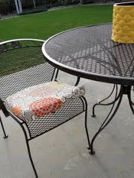 Wrought Iron Patio Chairs Awesome Tutorial For Repainting Wrought Iron Furniture