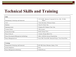 exle skills for resume cv of sumant kumar raja