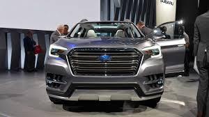 subaru suv concept 2019 2020 crossover subaru ascent u2013 so far with the prefix concept