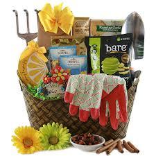 cool gift baskets cool inspiration gardening gifts design gardening gift