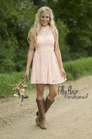 wedding dresses to wear with cowboy boots best 25 country bridesmaid dresses ideas on country