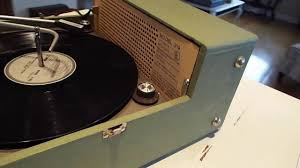 Record Player Storage Voice Of Music V M Record Player Playing A Lp Record Youtube