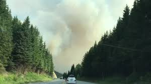 Wildfire Bc Pictures by Wildfire On Our Way To Salmon Arm B C From Banff Youtube