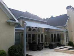 residential and commercial shade sails awnings above