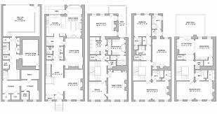 Townhouse Design Plans Townhouse Renovation Story Mansion Floor Plans Plan Home