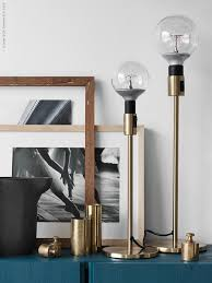 Table Lamp Bases Brisbane Ikea News A Kind Of Brass Lamp Lights Interiors And Decoration