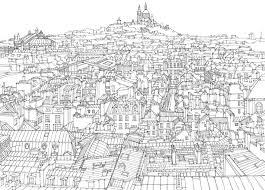 city illustration paris
