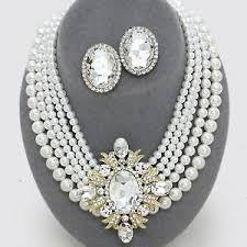 pearls necklace ebay images Gold pearl necklace ebay JPG