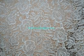 Wedding Dress Material White Ivory Red Black Water Soluble Lace Fabric Bridal Lace