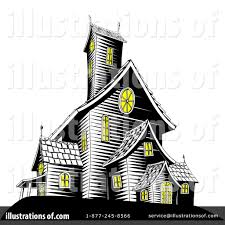 haunted house clipart 1071815 illustration by atstockillustration