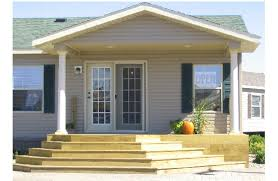 Homes With Front Porches Mobile Home Front Porch Home Modular Manufactured Homes