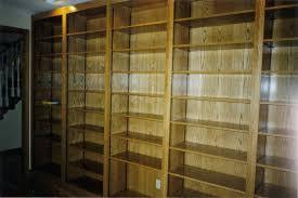 Oak Bookshelves by Book Shelves Foley Custom Cabinets