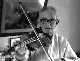Blind Violinist Famous A Story To Tell Keith Summers In Suffolk 1972 79