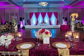floral decor in atlanta ga indian fusion wedding by