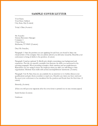 cover letter how to address address a cover letter template