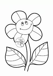 coloring flower coloring pages for preschoolers coloringstar