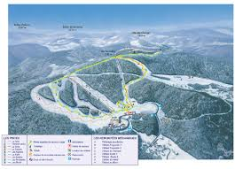Piste Maps For Italian Ski by Ventron Map 5 Open Pistes 6 Open Ski Lifts Winter Sports Com