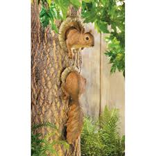 woodland squirrel tree decor wholesale at koehler home decor