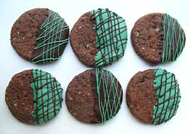 chocolate peppermint shortbread cookies the monday box