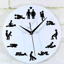 wall clocks novelty home decorative silent wall clock personality sex wall