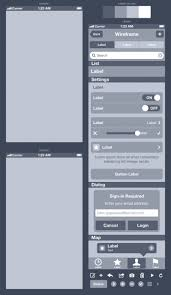 how to wireframe an iphone app in sketch meng to ui ux designer