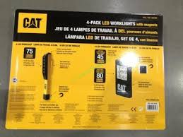 cat rechargeable led work light costco cat led worklights with magnets 4 pack costcochaser