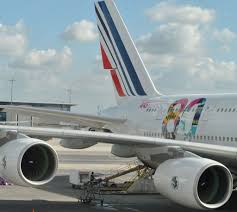 Air France A380 Seat Map by Review Of Air France Flight From Paris To New York In Economy