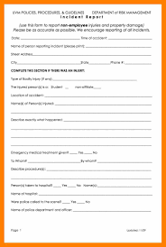 accident injury report form template 10 accidental report format students resume accidental report format inceident report template 4554 jpg