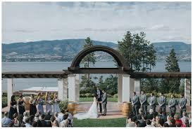 wedding arch kelowna kelowna wedding photographer cedar creek winery