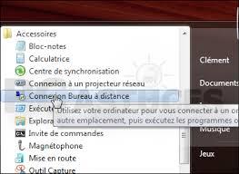 commande bureau a distance modifier le port de connexion à terminal server des clients