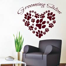 wall decals vinyl decal sticker pet shop art cat dog grooming wall decals vinyl decal sticker pet shop art cat dog grooming salon decor kg880 fashion