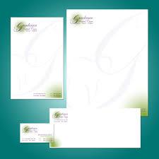 Business Card Letterhead Envelope Design by Notepad Letterhead Business Cards Envelope Client Gunderson